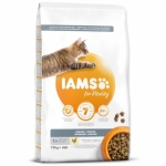 IAMS for Vitality Indoor Cat Food with Fresh Chicken (10kg)