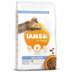 IAMS for Vitality Dental Cat Food with Fresh Chicken (10kg)