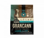 Grancann Lamb & Hemp seeds Adult small & medium breeds - 3 kg