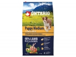 ONTARIO Puppy Medium Lamb & Rice (6,5kg)
