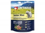 ONTARIO Senior Mini Lamb & Rice (0,75kg)